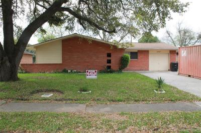 Houston Single Family Home For Sale: 2847 Dragonwick Drive
