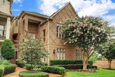 Houston Condo/Townhouse For Sale: 306 S Gate Stone