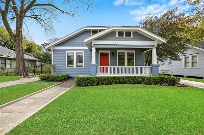 Houston Single Family Home For Sale: 836 Key Street