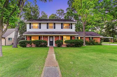 Houston TX Single Family Home For Sale: $375,000