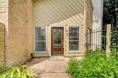 Memorial Condo/Townhouse For Sale: 12625 Memorial Drive #20