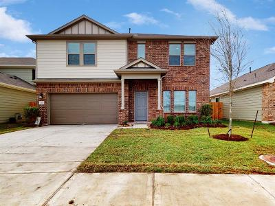 Alvin Single Family Home For Sale: 1235 Steed Bluff Drive