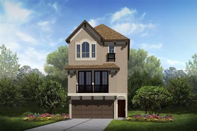 Houston TX Single Family Home For Sale: $347,996