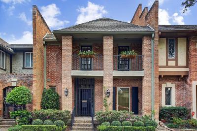 Houston Condo/Townhouse For Sale: 9619 Longmont Drive