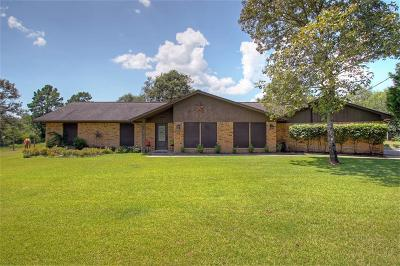Willis Single Family Home For Sale: 14897 Cedar Lane