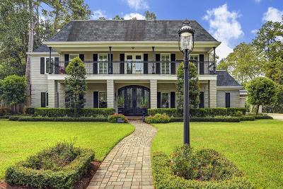 Bunker Hill Village Single Family Home For Sale: 12015 Pebble Hill Drive