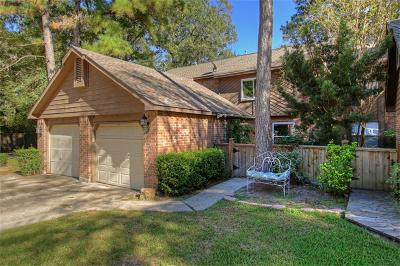 The Woodlands Condo/Townhouse For Sale: 36 W Willowwood Court