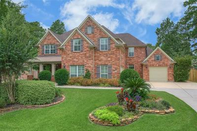 The Woodlands Single Family Home For Sale: 50 N Pentenwell Circle