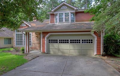 The Woodlands Single Family Home For Sale: 231 S Pathfinders Circle Circle
