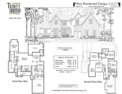 Houston Single Family Home For Sale: 406 Clear Spring Drive