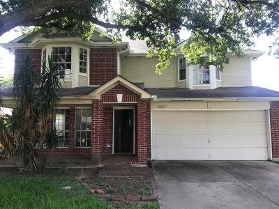 Seabrook Single Family Home For Sale: 4417 Plover Drive