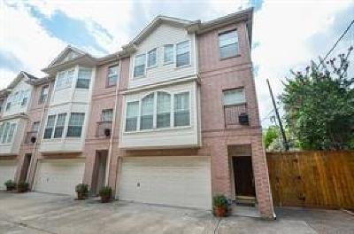Houston TX Condo/Townhouse For Sale: $380,000
