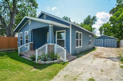 Houston Single Family Home For Sale: 803 Vincent Street