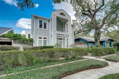 Houston Single Family Home For Sale: 1717 Haver Street