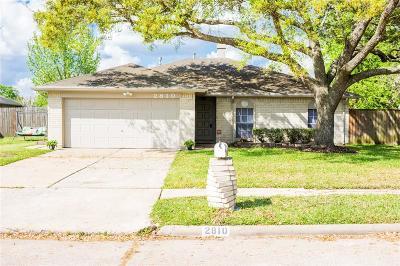 Stafford Single Family Home Option Pending: 2810 Fir Crest Court