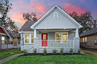 Houston Single Family Home For Sale: 1223 Morris Street