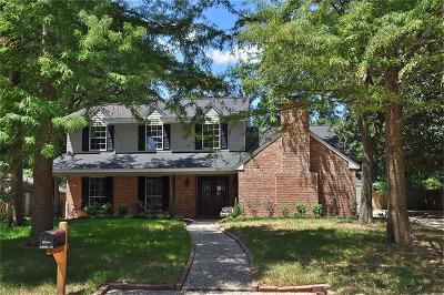 Houston Single Family Home For Sale: 1715 Woodland Vista Drive