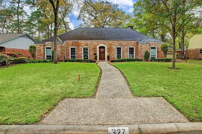 Houston Single Family Home For Sale: 327 Cinnamon Oak Lane