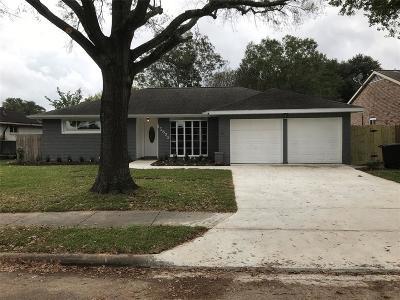 Houston TX Single Family Home For Sale: $225,000