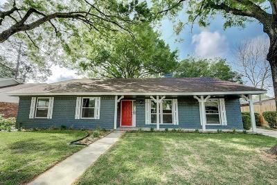 Houston Single Family Home For Sale: 6215 Rutherglenn Drive