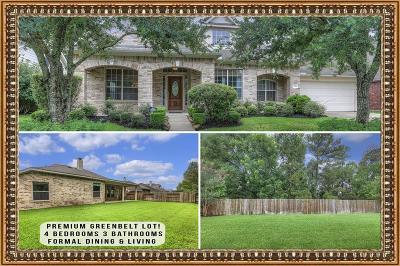 Humble Single Family Home For Sale: 7214 Stonebridge Creek Lane