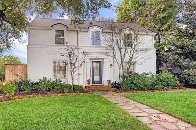 Houston Single Family Home For Sale: 2603 Fenwood Road