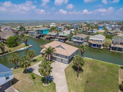 Galveston Single Family Home For Sale: 4401 Pelican Road