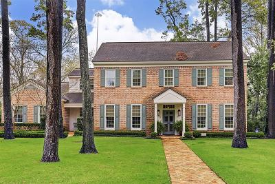Hunters Creek Village Single Family Home For Sale: 10614 Tarleton Drive