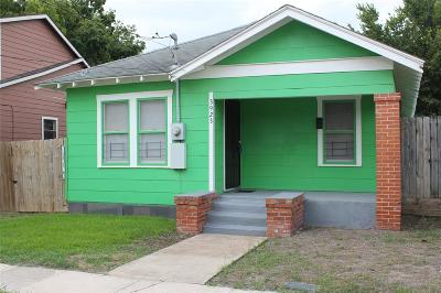 Houston Single Family Home For Sale: 3923 Coyle Street