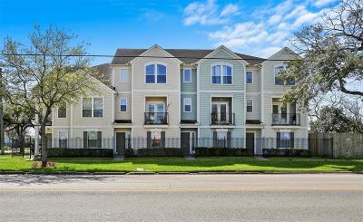 Houston Condo/Townhouse For Sale: 2418 Leeland Street