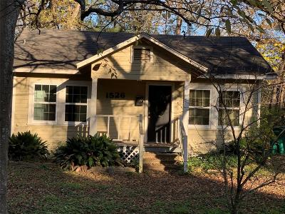 Conroe Single Family Home For Sale: 1526 N Thompson Street
