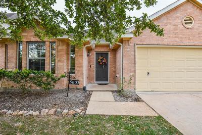 Rosharon Single Family Home For Sale: 5603 Savannah Woods Lane