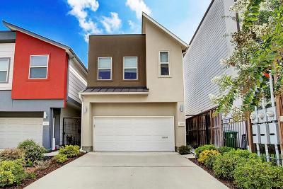 Houston Single Family Home For Sale: 1811 Wichita Street #B