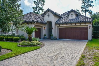 The Woodlands Single Family Home For Sale: 6 Ivy Castle Court