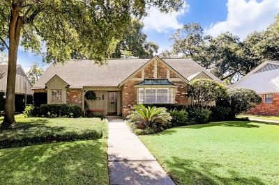 Houston Single Family Home For Sale: 7807 Meadow Lake Lane