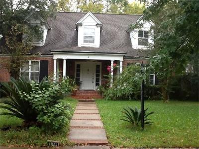 Houston Single Family Home For Sale: 1921 Canterbury Street