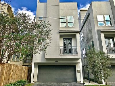 Houston Condo/Townhouse For Sale: 2208 Cohn Street