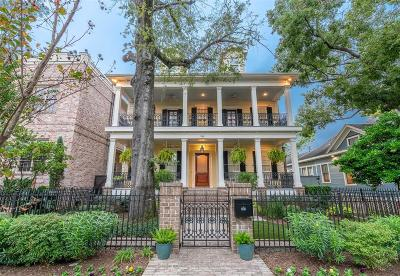 Houston Single Family Home For Sale: 703 Columbia Street