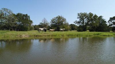 Fayette County Farm & Ranch For Sale: 1734 Waldeck Road