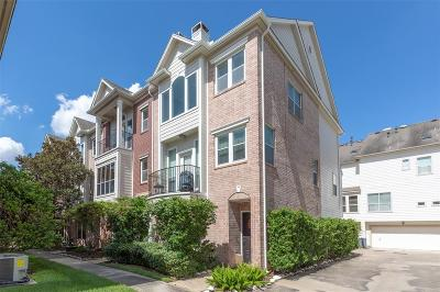 Houston Condo/Townhouse For Sale: 2913 Crawford Street