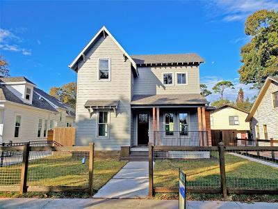 Houston Single Family Home For Sale: 1823 Arlington