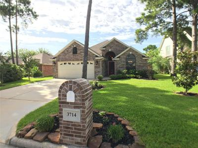 Montgomery Single Family Home For Sale: 3714 Meads Meadow