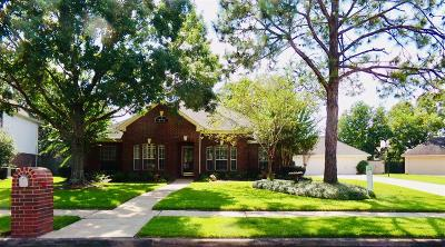 Friendswood Single Family Home For Sale: 1602 Keystone Drive