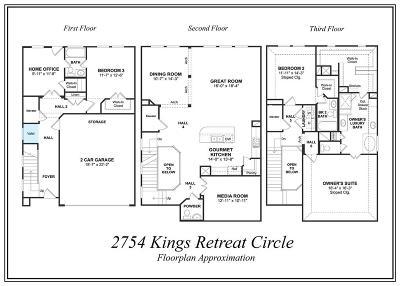 Kingwood Single Family Home For Sale: 2754 Kings Retreat Circle
