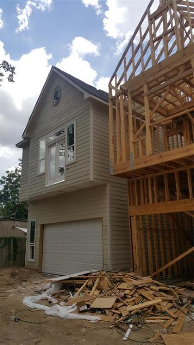 Houston Single Family Home For Sale: 846-E W 20th