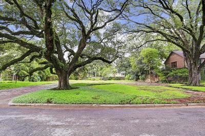 Residential Lots & Land For Sale: 2502 Blue Bonnet Boulevard