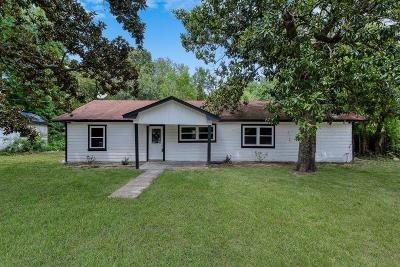 New Caney Single Family Home For Sale: 21797 Baptist Encampment Road