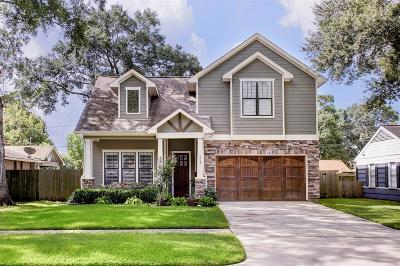 Houston Single Family Home For Sale: 1713 Chantilly Lane
