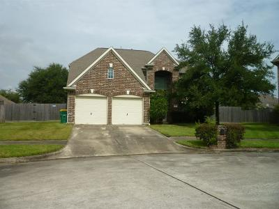 Baytown Single Family Home For Sale: 1818 Pinewood Court Drive