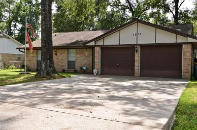 Conroe TX Single Family Home For Sale: $135,000
